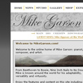 An old version of Mike Garsons website - David Bowies pianist