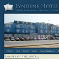 Final site for the Lyndene Hotel on Blackpool Promenade